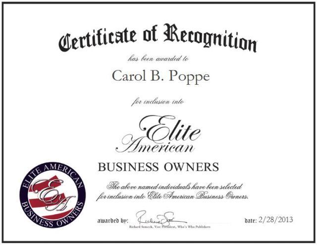Carol B. Poppe