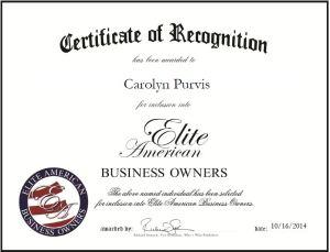Carolyn Purvis