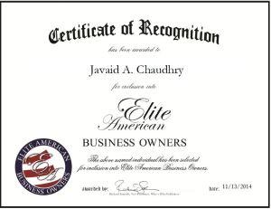 Javaid A. Chaudhry