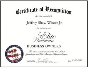 Jeffrey Shaw Winter Jr.