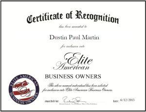 Dustin Paul Martin