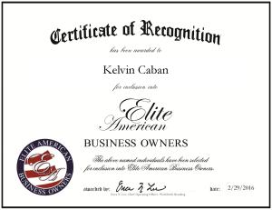 Caban, Kelvin 1940128